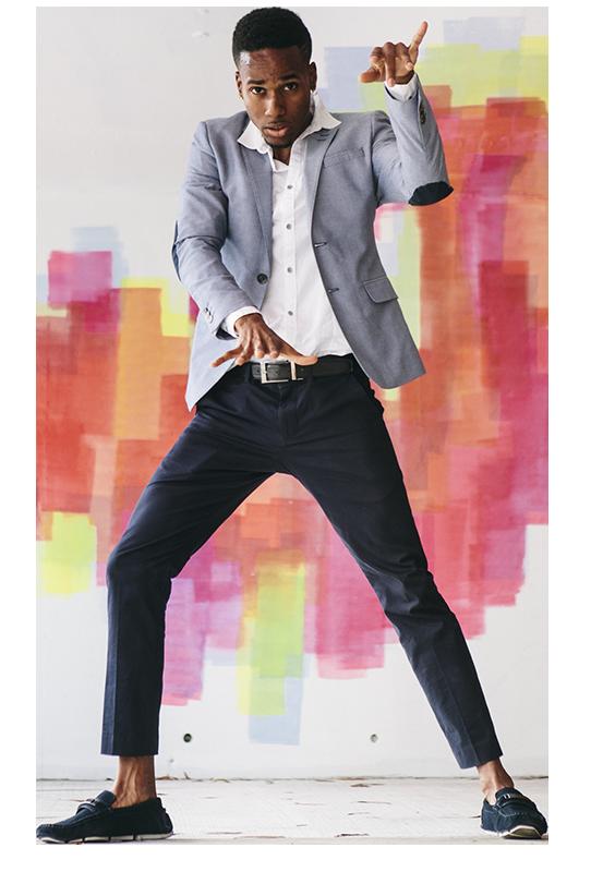 image of a man dancing